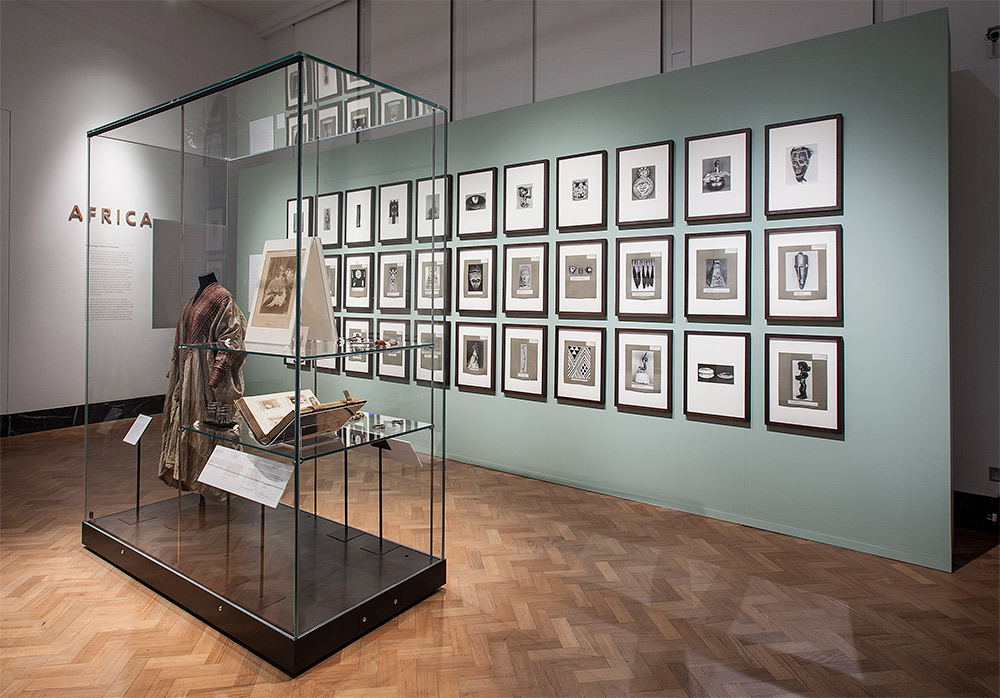 Installation view of 'V&A Africa: Exploring Hidden Histories', V&A Museum, 15 November 2012 - 3 February 2013, © Victoria and Albert Museum, London