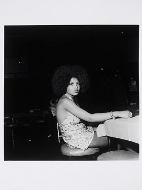 Raphael Albert, Untitled, circa 1970s, from the portfolio 'Black Beauty Pageants'. Museum no. E.316-2013. © Raphael Albert/ Autograph ABP/ Victoria and Albert Museum, London. Supported by the National Lottery through the Heritage Lottery Fund.