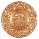 Copper dish or charger, John Pearson