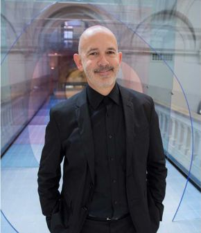 David Bickle, Director of Design, Exhibitions and FuturePlan. © Victoria and Albert Museum, London.