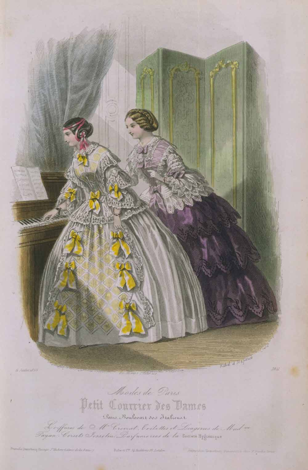 Corsets Crinolines In Victorian Fashion Victoria And