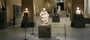 Development of the sculpture galleries, 2007