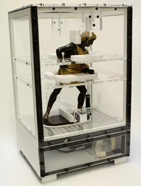 Figure 4 - The object packed ready for transit. Photography by Phil Sofer