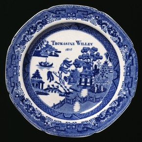 Plate, Spode Ceramic Works, 1818. Museum no. C.231-1934