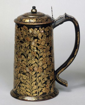 Tankard, unknown maker, Kyoto, Japan, 1600-1620. MUseum no. FE.23-1982