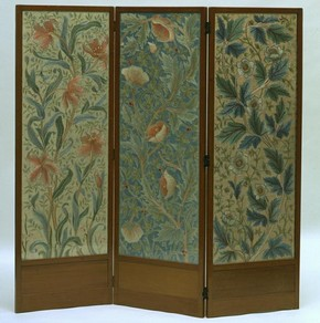 Screen, John Henry Dearle (designer), Morris &amp; Co. (manufacturer), 1885-1910. Museum no. CIRC.848-1956