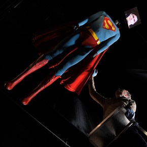 John Bloomfield's 1987 Superman costume worn by Christopher Reeve in Superman IV: The Quest for Peace