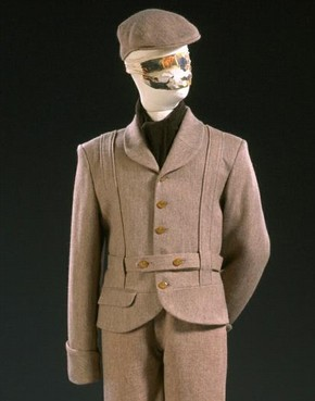 Time Machine suit, Vivienne Westwood, 1988. Museum no. T.261:1, 2-1991