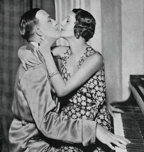 Noël Coward and Gertrude Lawrence, photograph, 20th century. © Victoria and Albert Museum, London