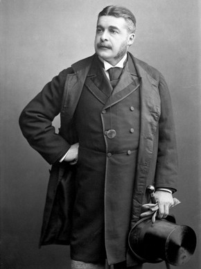 Portrait of Sir Arthur Sullivan, London, 19th century