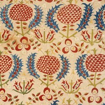 Part of hanging or quilt-cover, 1600-1700. Museum no. Circ.92-1953