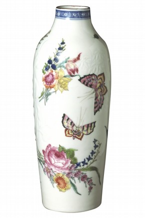 Enamelled Vase, China, (Qing Dynasty), mid 18th century about 1752–66 Museum no. C16-1962