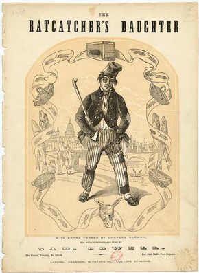 Music sheet cover for 'The Ratcatcher's Daughter', 19th century. Museum no. S.2768-1986, © Victoria and Albert Museum, London