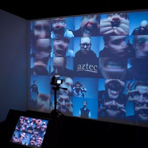 Video Grid by Ross Philips, Decode: Digital Design Sensations, 8 December 2009-11 April 2010