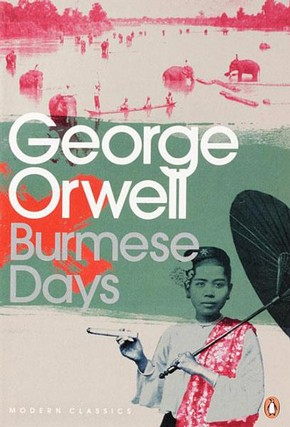 Marion Deuchars cover illustration to 'Burmese Days' by George Orwell, published by Penguin Books, London, 2009.