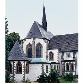 The church of Mariawald Abbey today. Photograph by Dagmar Täube.
