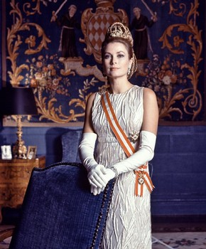 Portrait of Princess Grace on her 10th wedding anniversary, Monaco, 1966. © Howell Conant/Bob Adelman books