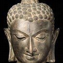 Head of the Buddha mica schist Sultanganj 7th - 8th century Museum no. IS.171-1949