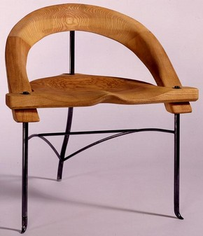 'Noah', armchair designed by Nigel Coates, 1988, Museum no. W.15-1990