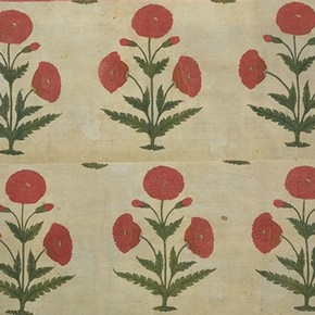 Part of a floor spread, late 17th or early 18th century, Museum no. IM.69-1930