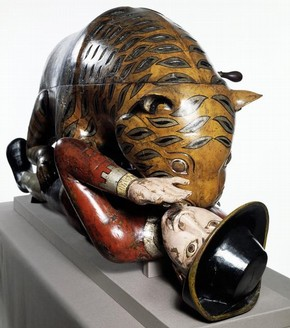 Tipu's Tiger', emblematic organ, 1790. Museum no. 2545(IS)