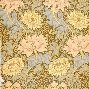 'Chrysanthemum', wallpaper by William Morris, late 19th century. Museum no. E.504-1919, © Victoria & Albert Museum, London