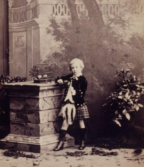 Camille Silvy, photograph of Master HGE Gladstone, 1862. Museum no. E980-1992