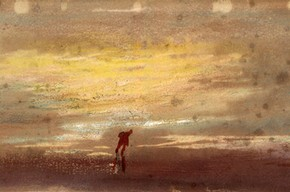 Joseph Mallord William Turner, 'Study of Sunlight'. Museum no. P.20-1938
