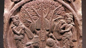 Relief carved panel, Bharhut