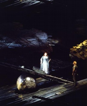 Rita Hunter as Brunnhilde in Wagner's opera Ring Cycle, 1973