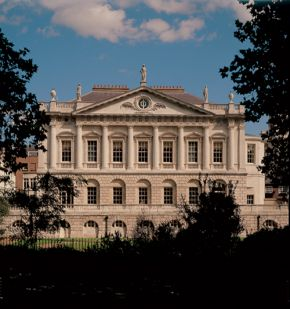 Spencer House, The West Facade. © Spencer House Limited. Photograph by Mark Fiennes