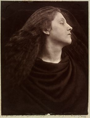 Julia Margaret Cameron, Call, I Follow, I Follow, Let Me Die!, 1867, carbon print from copy negative. Museum no. 15-1939, © Victoria and Albert Museum, London