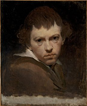 James Barry, (1741-1806), Portrait of the artist, around 1775-1780, oil on canvas. Museum no. 564-1870, © Victoria and Albert Museum, London