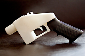 'Liberator', 3D printed gun. Cody Wilson / Defence Distributed, 2013