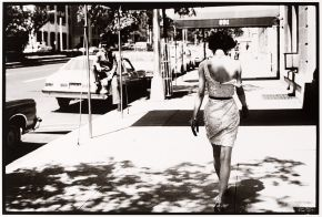 Arthur Elgort, Wendy Whitelaw, Park Avenue. Personal picture taken on American Vogue fashion shoot, July 1981, © Arthur Elgort/Victoria and Albert Museum, London