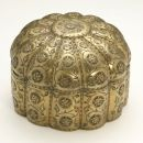 Brass box, 17th century. Museum no. IS.2068-1883
