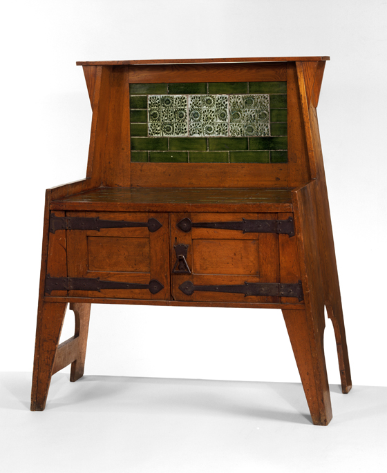 Oak Washstand By Liberty U0026 Co., England, C. 1894. Museum No. W. 19 1984