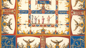 Design for a Vaulted Ceiling, by Vincenzo Brenna, about 1775