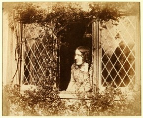 Figure 2 - B B Turner, Agnes Chamberlain at the Window, 1854,salted paper print. Museum no. E.6-2009