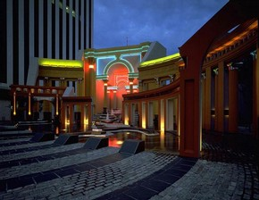 Piazza d'Italia, New Orleans, USA, by Charles Moore & Urban Innovations Group (with Perez Associates), 1975-77.