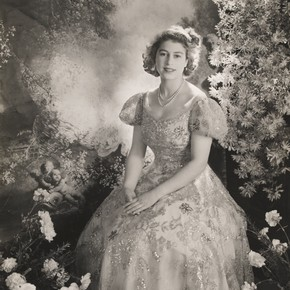 Princess Elizabeth by Cecil Beaton, March 1945. Museum no. E.1361-2010, © Victoria and Albert Museum, London