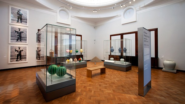 Gallery view of 'Ai Weiwei: Dropping the Urn, 15 October 2011' – 18 March 2012.