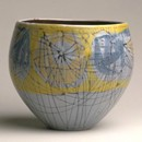 Bowl, Nicholas Vergette, 1954. Museum no. CIRC.278-1954