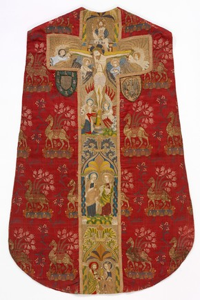 Chasuble, unknown maker, 1400-1430. Museum no. T.256 to B-1967