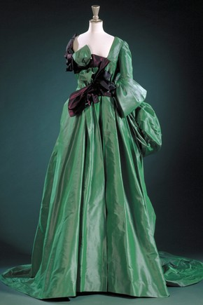 Watteau evening dress, Vivienne Westwood, 1996. Museum no. T.438:1 to 4-1996