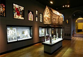 Sacred Silver and Stained Glass Galleries