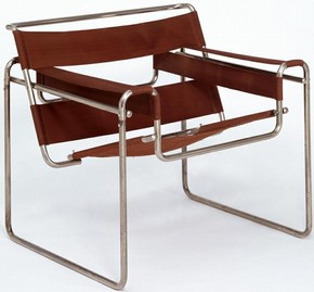 Club chair, model B3, Marcel Lajos Breuer (1902-1981), 1925/6. Museum no. W.2-2005
