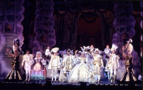 Finale of 'Cinderella' at the Birmingham Hippodrome, 1995-6. © Victoria and Albert Museum, London