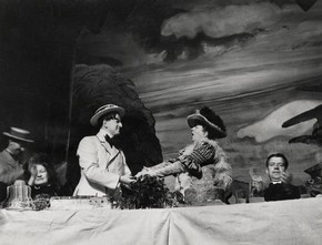 Scene from the English Opera Group production of Benjamin Britten's opera Albert Herring, 1947