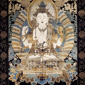 The Bodhisattva Guanyin, 1740-1800. Museum no. T.97-1966 
